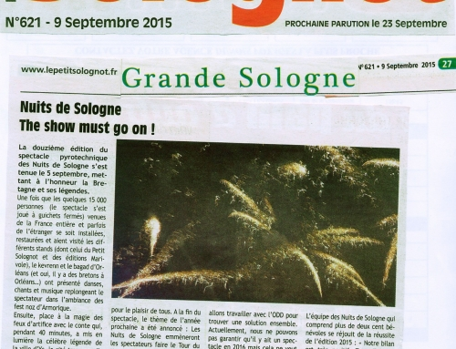 NUITS DE SOLOGNE THE SHOW MUST GO ON